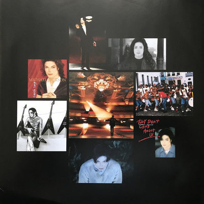 Michael Jackson History: Continues (2 Picture Disc LP)