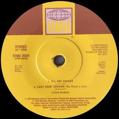 """Stevie Wonder Songs In The Key Of Life (2 LP+ 7"""" Vinyl)"""