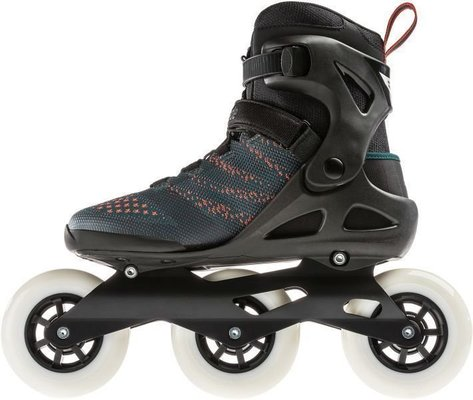Rollerblade Macroblade 110 3WD Teal Green/Orange Burst 285