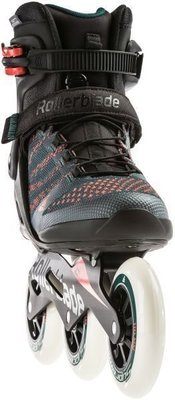 Rollerblade Macroblade 110 3WD Teal Green/Orange Burst 305