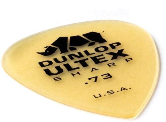 Dunlop 433R073 Ultex Sharp Pick 0.73
