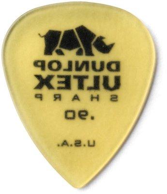 Dunlop 433R073 Ultex Sharp Pick 0.90
