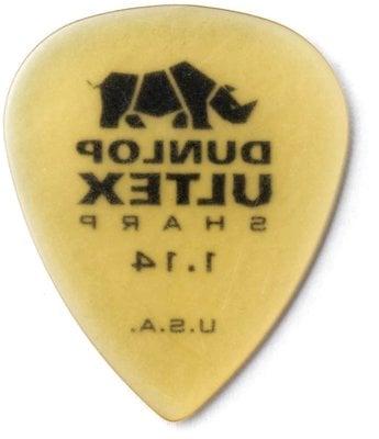 Dunlop 433R073 Ultex Sharp Pick 1.14