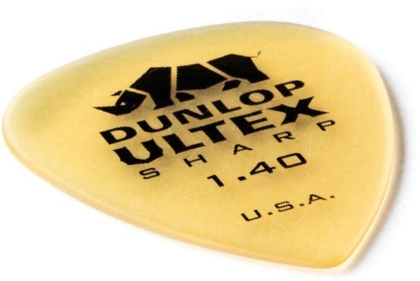 Dunlop 433R073 Ultex Sharp Pick 1.40