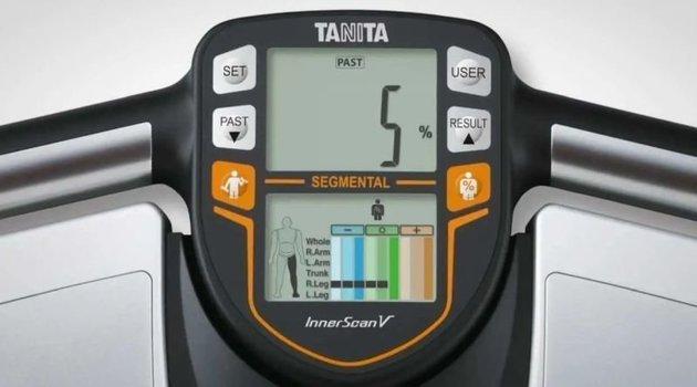 Tanita BC-545N Smart Scale Clear