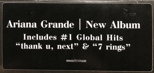 Ariana Grande Thank U, Next (2 LP)