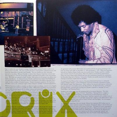 Jimi Hendrix Band of Gypsys (Vinyl LP)
