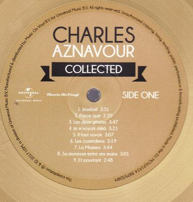 Charles Aznavour Collected (3 Gold Coloured Vinyl) (Gatefold Sleeve)