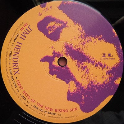 Jimi Hendrix First Rays of the New Rising Sun (2 LP)