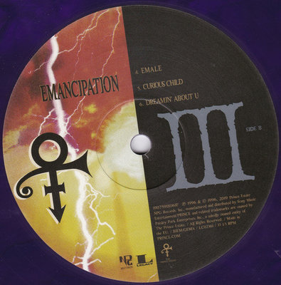 Prince Emancipation (6 Purple Coloured Vinyl LP)