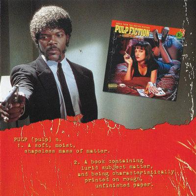 Pulp Fiction Original Soundtrack (CD)