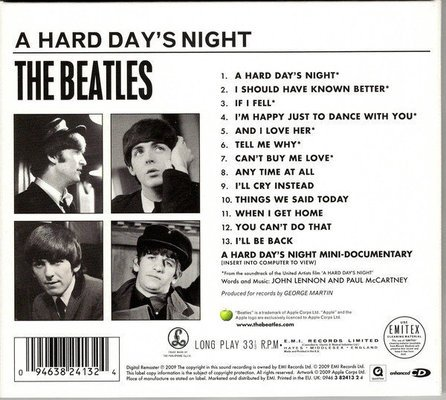 The Beatles A Hard Day's Night (Remastered) (CD)