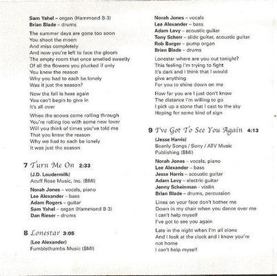 Norah Jones Come Away With Me (CD)
