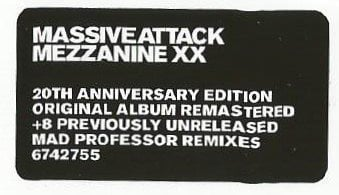 Massive Attack Mezzanine (Deluxe) (2 CD)