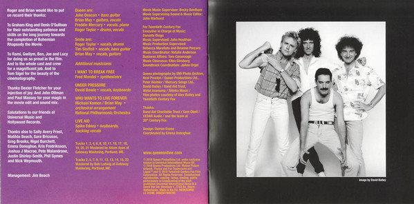 Queen Bohemian Rhapsody (OST) (CD)