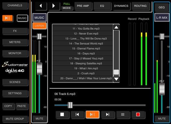 Studiomaster DigiLive 8C