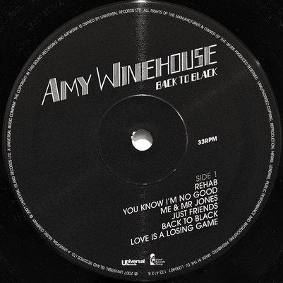 Amy Winehouse Back To Black (Vinyl LP)