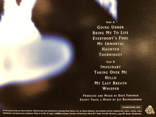 Evanescence Fallen (Vinyl LP)