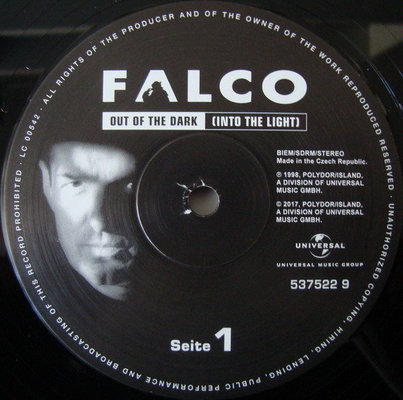 Falco Out Of The Dark (Into The Light) (Vinyl LP)