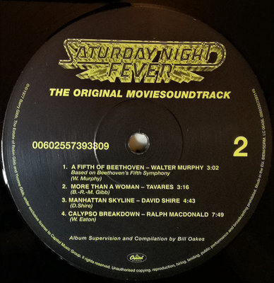 Saturday Night Fever The Original Movie Sound Track (2 LP)