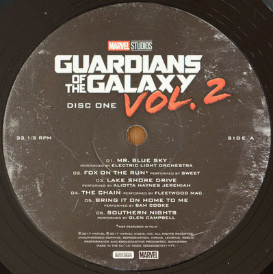 Guardians of the Galaxy Vol. 2 (Songs From the Motion Picture) (2 LP) Edycja Deluxe