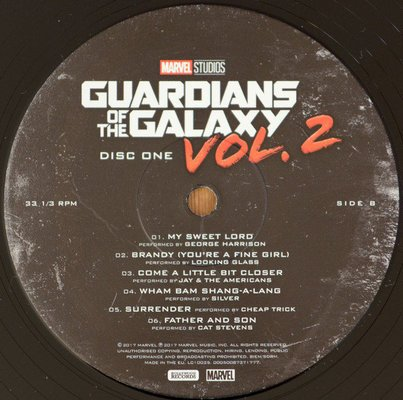 Guardians of the Galaxy Vol. 2 (Songs From the Motion Picture) (2 LP Deluxe Edition)