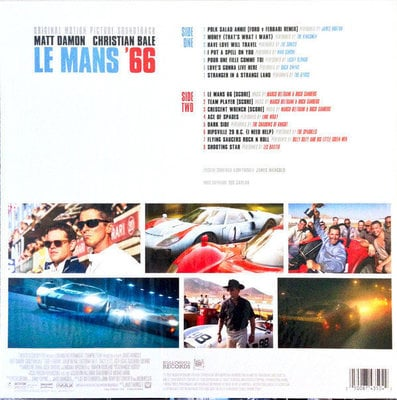 Le Mans '66 Original Motion Picture Soundtrack (Vinyl LP)