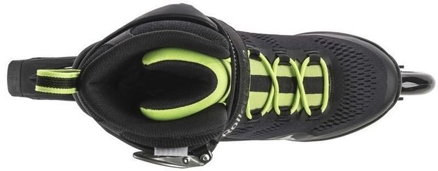 Rollerblade Macroblade 90 Black/Acid Green 29,5/45