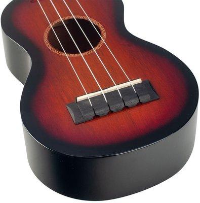Mahalo Java Soprano 3-Tone Sunburst
