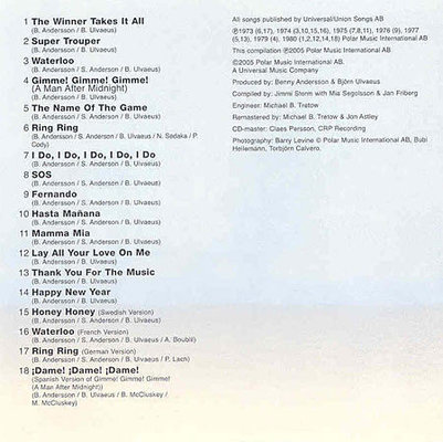 Abba 18 Hits (CD)