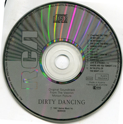 Dirty Dancing Original Soundtrack (CD)