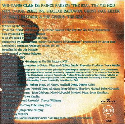 Wu-Tang Clan Enter The Wu-Tang Muzyczne CD
