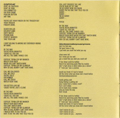 Billie Eilish Don't Smile At Me (CD)