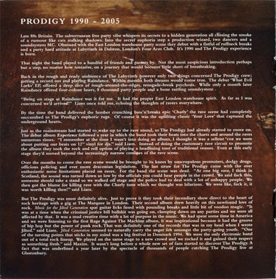 Prodigy Their Law Singles 1990-2005 (CD)