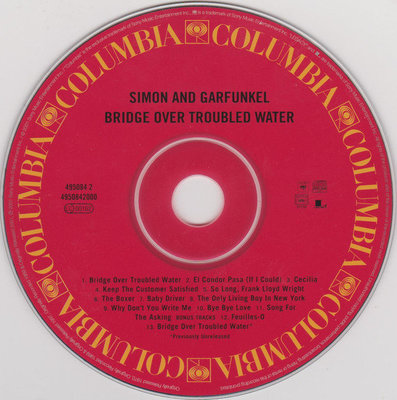 Simon & Garfunkel Bridge Over Troubled Water (Remastered) (CD)