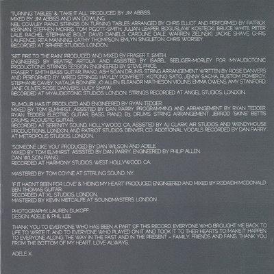 Adele 21 Muzyczne CD