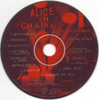Alice in Chains MTV Unplugged (CD)