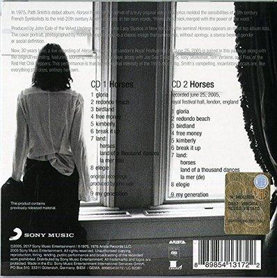 Patti Smith Horses (2 CD)
