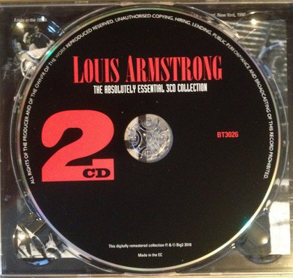 Louis Armstrong The Absolutely Essential 3 CD Collection (3 CD)
