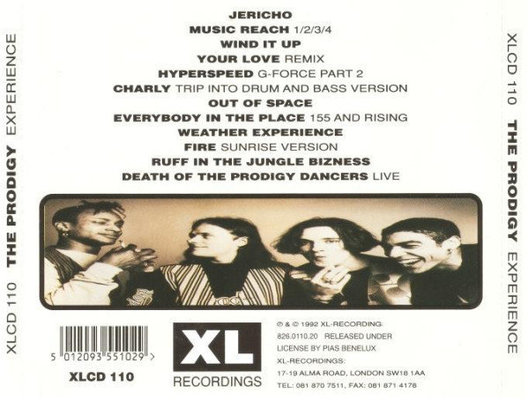 Prodigy Experience (CD)