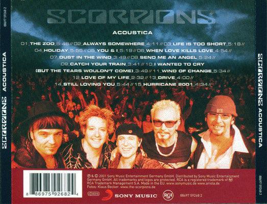 Scorpions Acoustica (CD)