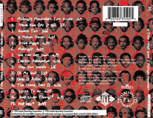 A Tribe Called Quest Midnight Marauders (CD)
