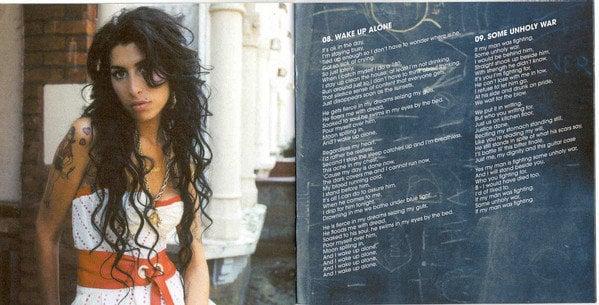 Amy Winehouse Back To Black (CD)