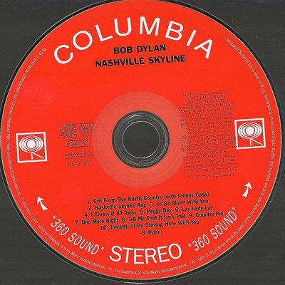 Bob Dylan Nashville Skyline (Remastered) (CD)