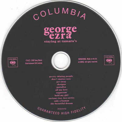 George Ezra Staying At Tamara's (CD)
