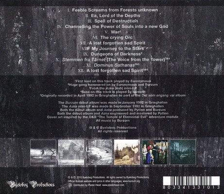 Burzum Burzum / Aske (CD)