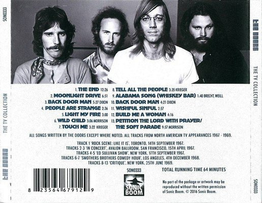 The Doors The TV Collection (CD)