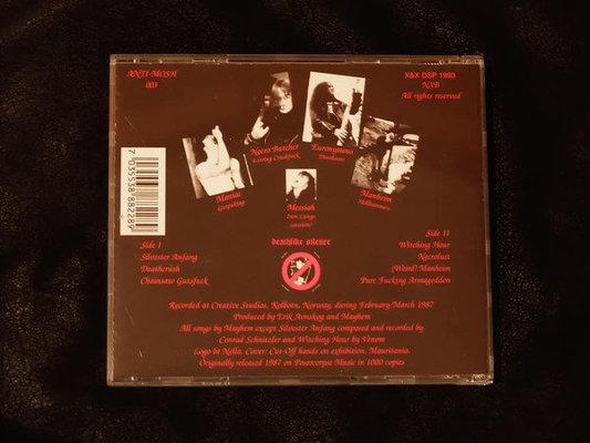 Mayhem Death Crush (CD)