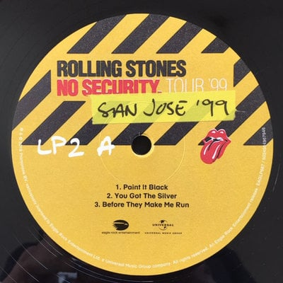 The Rolling Stones From The Vault: No Security - San José 1999 (3 LP)