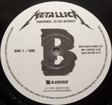 Metallica Hardwired...To Self-Destruct (2 LP)